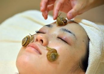 Japan beauty treatment offers slime power
